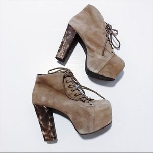 Jeffrey Campbell - Lace Up Boots